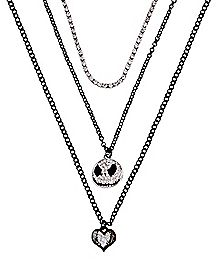 Multi-Pack Jack Skellington Necklaces 3 Pack - The Nightmare Before Christmas