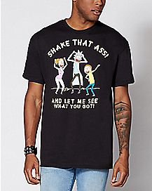 Shake That Ass Rick and Morty T Shirt