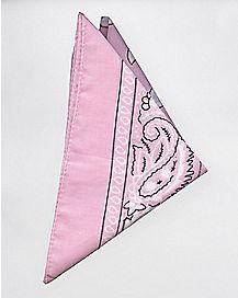 Baby Pink Bandana