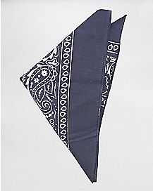 Dark Navy Blue Bandana