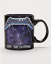 Ride The Lightning Metallica Coffee Mug 20 oz. - The Master Collection