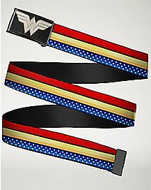 Wonder Woman Striped Belt - DC Comics