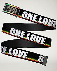 One Love Bob Marley Belt
