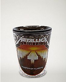Master of Puppets Metallica Freezer Shot Glass 1.5 oz. - The Master Collection