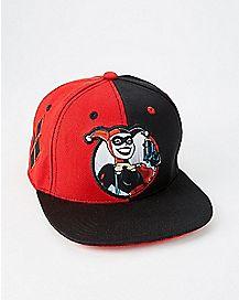 Classic Harley Quinn Snapback Hat - DC Comics