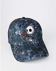Tie Dye Jack Skellington Dad Hat - The Nightmare Before Christmas
