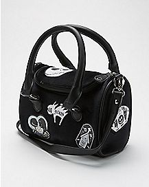 Patches Jack and Sally Handbag - The Nightmare Before Christmas