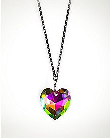 Facet Heart Necklace