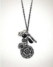 Charm Flower Necklace
