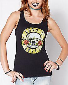 Bullet Logo Guns N' Roses Tank Top