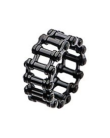 Black-Plated Bike Chain Ring
