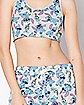 Stitch Sports Bra and Shorts Set - Disney