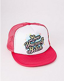 Love Yourself Bitch Trucker Hat