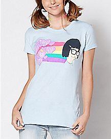 Rainbow Tina Bob's Burgers T Shirt