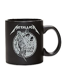 Justice For All Metallica Coffee Mug 20 oz. - The Master Collection