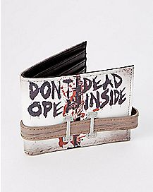 Don't Open The Walking Dead Bifold Wallet