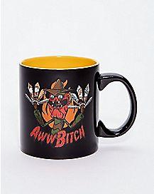 Aww Bitch Rick and Morty Coffee Mug - 20 oz.