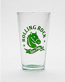 Rolling Rock Pint Glass - 16 oz.