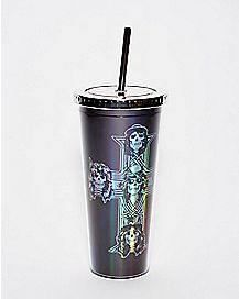 Guns N' Roses Cup With Straw - 24 oz.