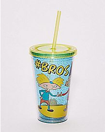 Bros Hey Arnold Carnival Cup 16 oz. - Nickelodeon