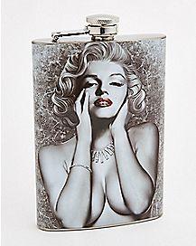 Marilyn Monroe Flask - 8 oz.