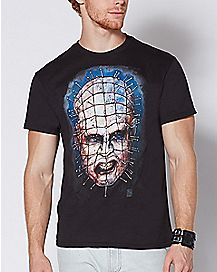 Sketch Pinhead T Shirt - Hellraiser