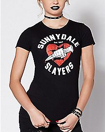 Sunnydale Slayers T Shirt - Buffy the Vampire Slayer