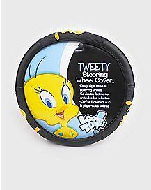 Tweety Bird Steering Wheel Cover - Looney Tunes