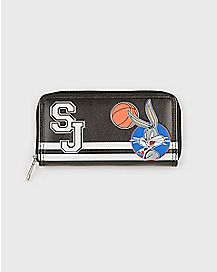 Varsity Patch Space Jam Zip Wallet - Looney Tunes