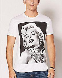 Bandana Marilyn Monroe T Shirt