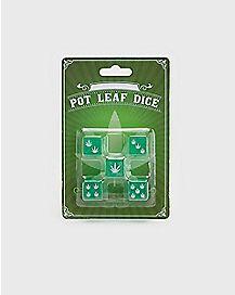 Pot Leaf Dice