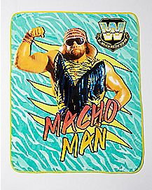 Macho Man Randy Savage Fleece Blanket - WWE