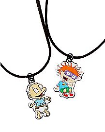Tommy and Chuckie Friendship Necklaces - Rugrats