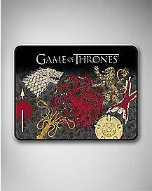 Houses Game Of Thrones Fleece Blanket
