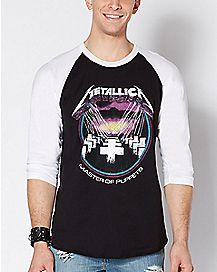 Raglan Master Of Puppets Metallica Raglan T Shirt