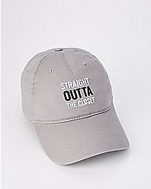 Straight Outta The Closet Dad Hat