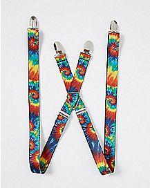 Tie Dye Suspenders