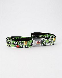 Marvin The Martian Seatbelt Belt - Looney Tunes