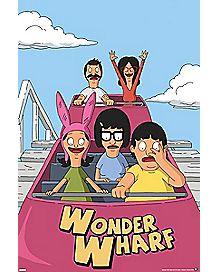 Wonder Wharf Bob's Burgers Poster