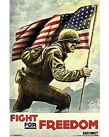 Fight for Freedom Call of Duty Poster