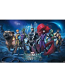 Inhumans Poster - Marvel