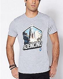 Sciencing NASA T Shirt