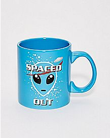 NASA Spaced Out Alien Mug - 20 oz.