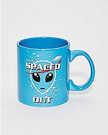 NASA Spaced Out Alien Mug - 20 oz.