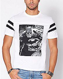 Varsity Batman T Shirt - DC Comics