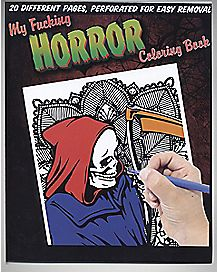 My Fucking Horror Coloring Book