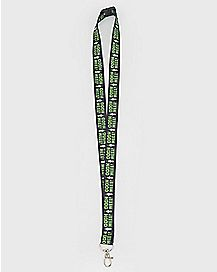 Mr. Poopybutthole Lanyard - Rick and Morty