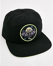 Spaceship Rick and Morty Snapback Hat