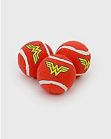 Wonder Woman Dog Squeaky Toy 3 Pack - DC Comics