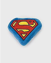 Plush Superman Dog Squeaky Toy - DC Comics